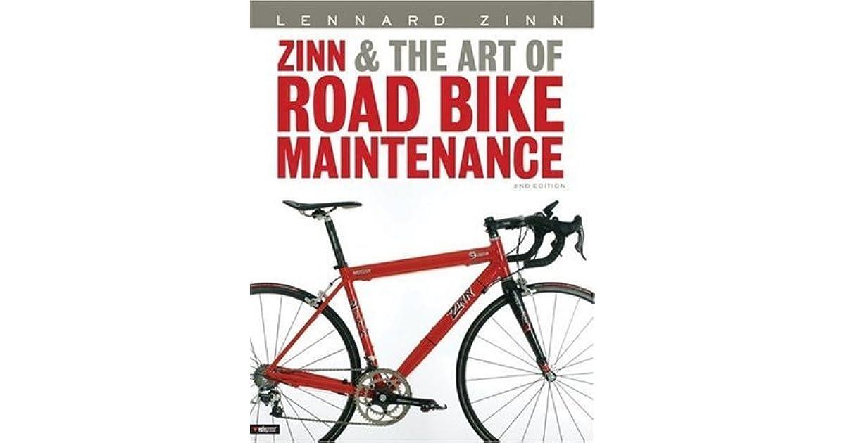 Zinn And The Art Of Road Bike Maintenance Pdf