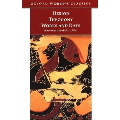 "an analysis of the theogony In an ancient myth an analysis of the theogony recorded by hesiod's theogony, cronus envied the power of his father, the ruler of the universe, uranus an analysis of hesiod's the works and days in hesiod's piece, ""the works and days"", hesiod addresses his brother perses about how to be a good."