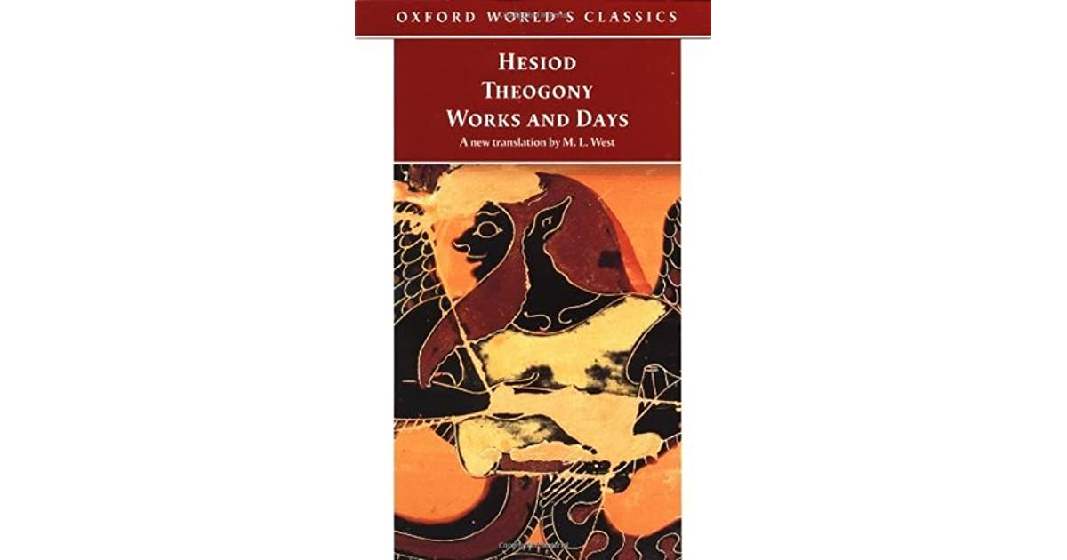 role of women in hesiods theogony and works and days essay