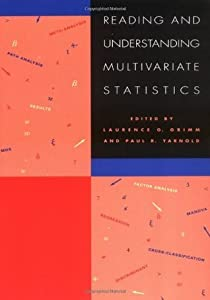Reading & Understanding Multivariate Statistics