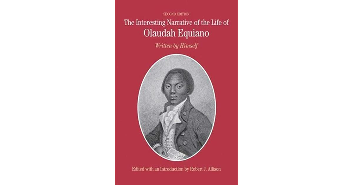 which is true of equianos position on the voyage