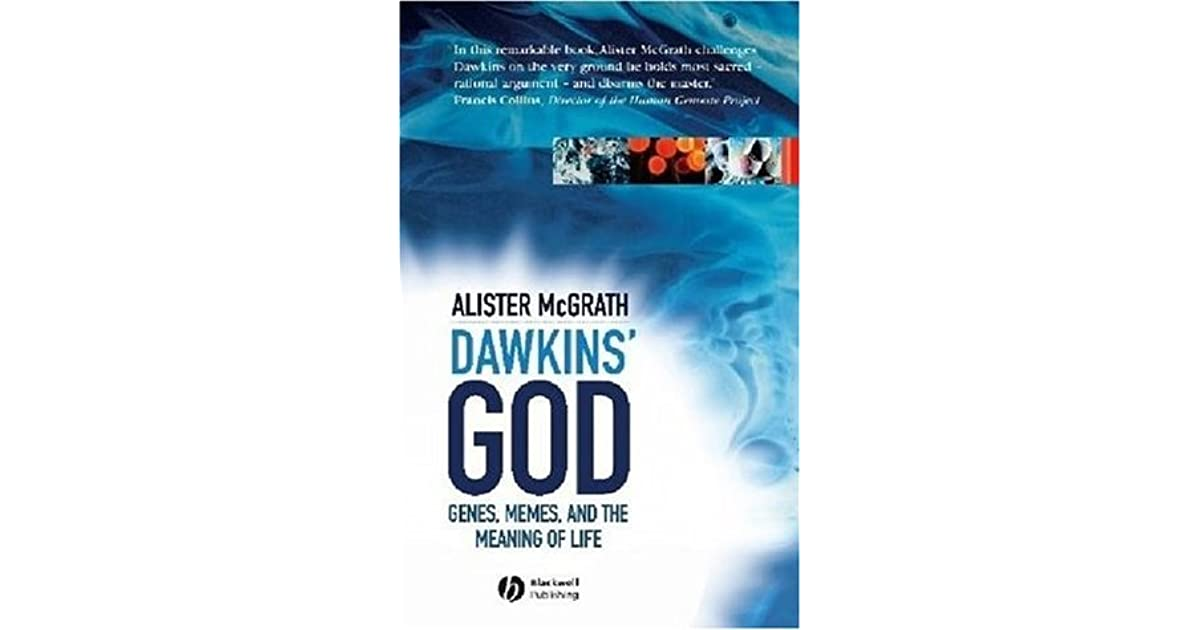 M Line Nachtkastje.Dawkins God Genes Memes And The Meaning Of Life By Alister E