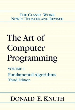 The Art of Computer Programming, Volume 1: Fundamental Algorithms