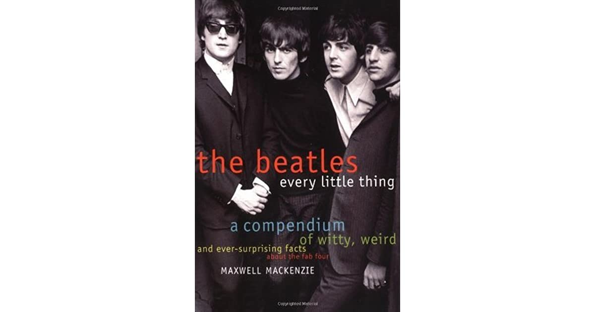 Beatles Every Little Thing By Maxwell Mackenzie border=
