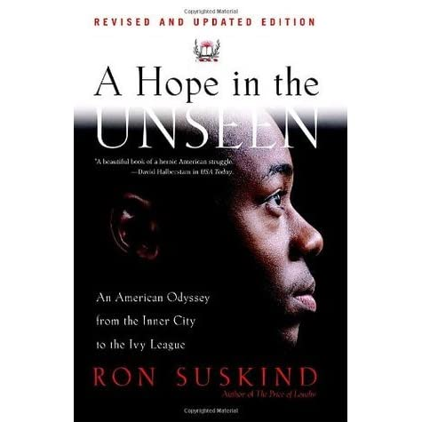 a report on a hope unseen a biographical novel by ron suskind Suskind, ron confidence  harvard college class of 1897 twenty-fifth anniversary report, 1897-1922  genealogies and biographical sketches of the ancestry.