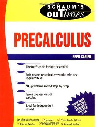 Outline of PreCalculus