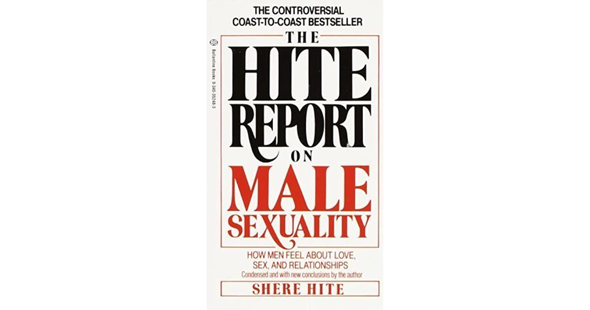 Hite report masturbation