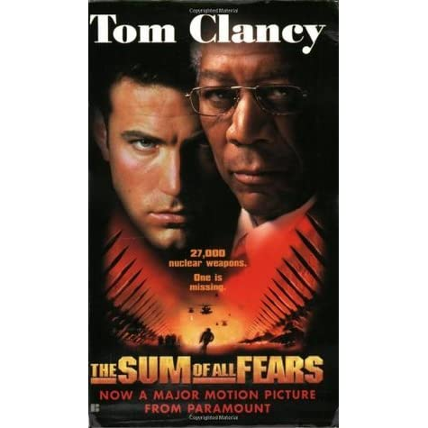 an analysis of the characters and conflicts in the sum of all fears a novel by tom clancy