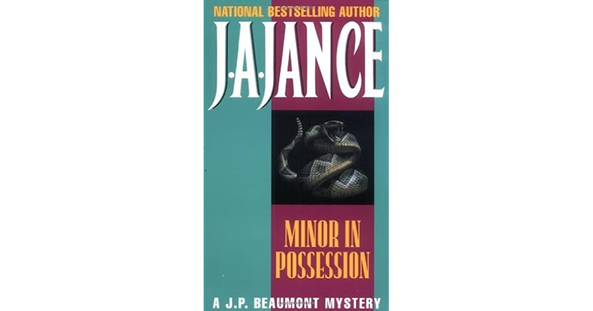 Minor in possession jp beaumont 8 by ja jance fandeluxe Epub