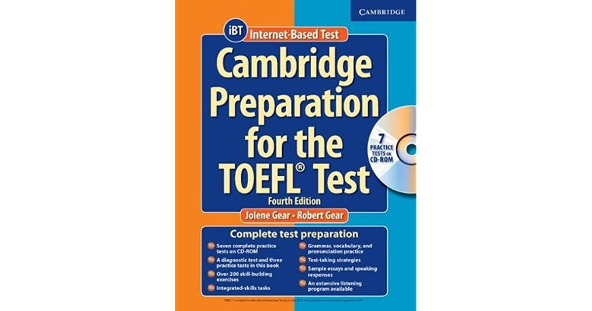Cambridge Toefl Ibt Book