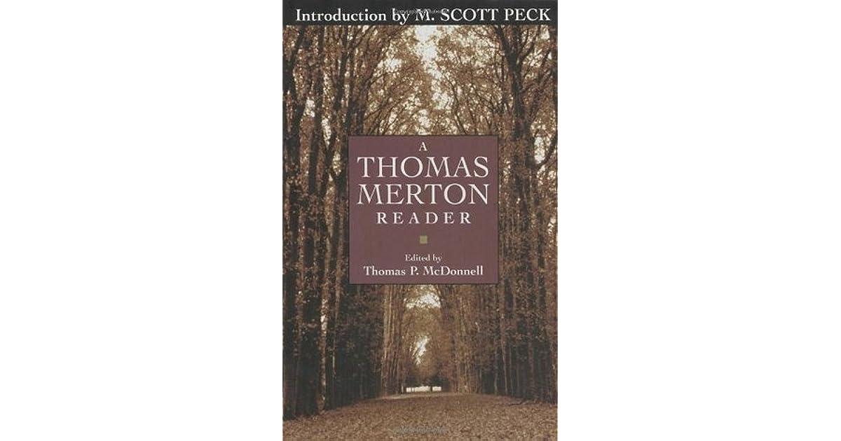 A thomas merton reader by thomas merton fandeluxe Image collections