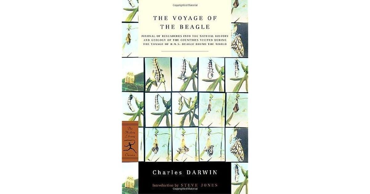 the voyage of the beagle darwin charles jones steve