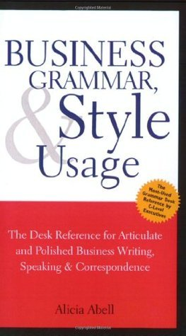 Business Grammar and Usage