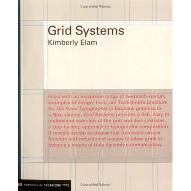 Grid Systems Principles Of Organizing Type By Kimberly Elam