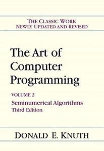 The Art of Computer Programming, Volume 2: Seminumerical Algorithms