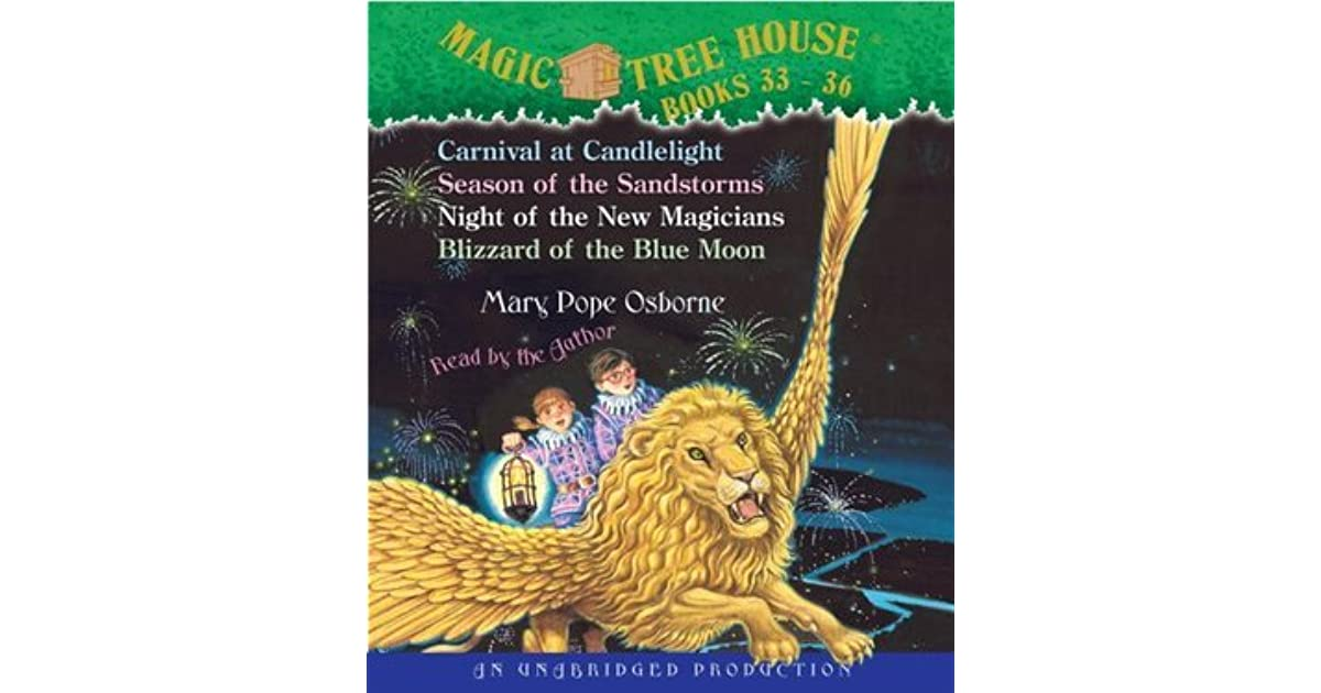 Magic Tree House: #33-36 By Mary Pope Osborne