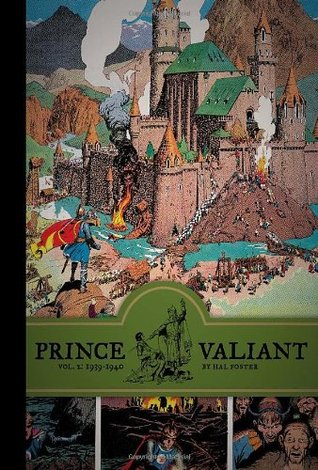 Prince Valiant, Vol  2: 1939-1940 by Hal Foster