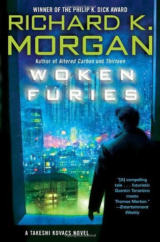 book cover for Woken Furies