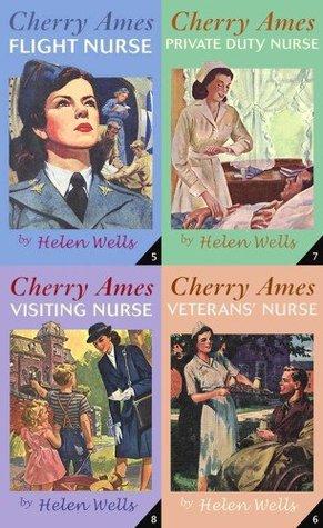 Cherry Ames Boxed Set #2: Flight Nurse; Veteran's Nurse; Private Duty Nurse; Visiting Nurse