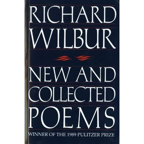 Image result for wilbur new and collected poems
