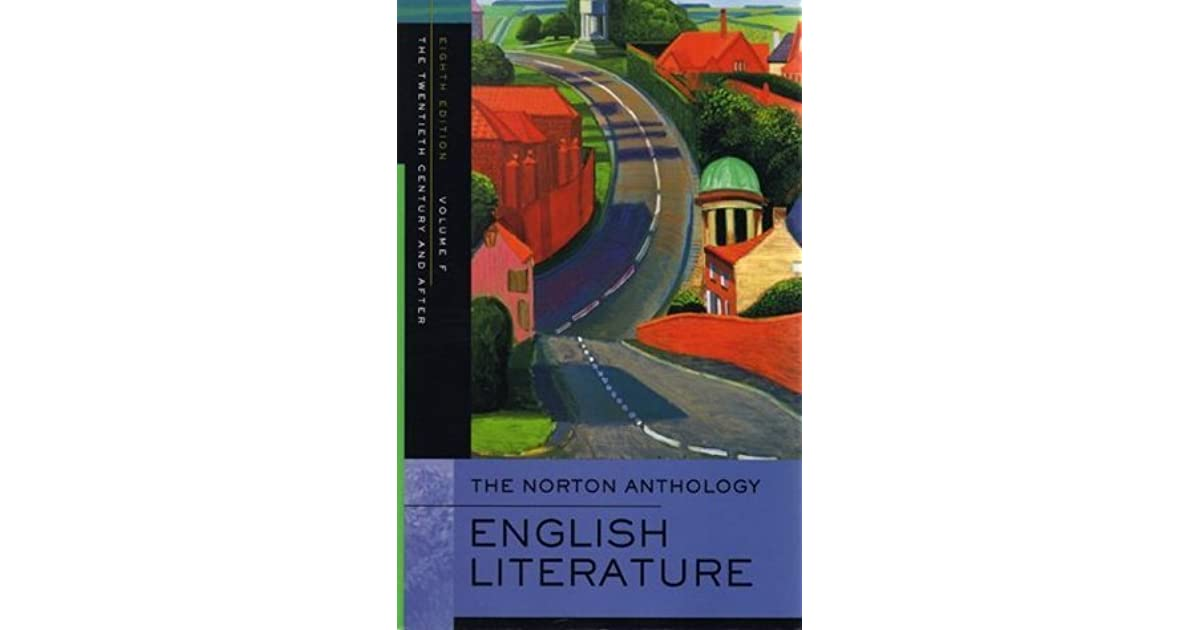 an analysis of the norton anthology of english literature Find great deals for norton anthology of english literature: the norton anthology of english literature vol 1 by m h abrams (1999.