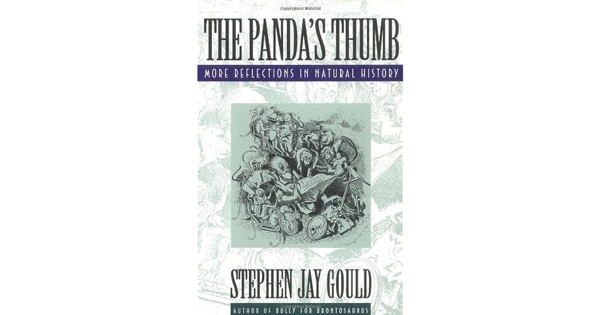 the pandas thumb essay