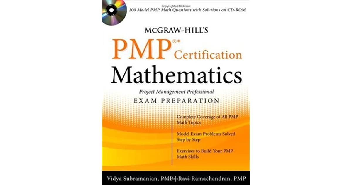 Mcgraw Hills Pmp Certification Mathematics With Cd Rom By Vidya