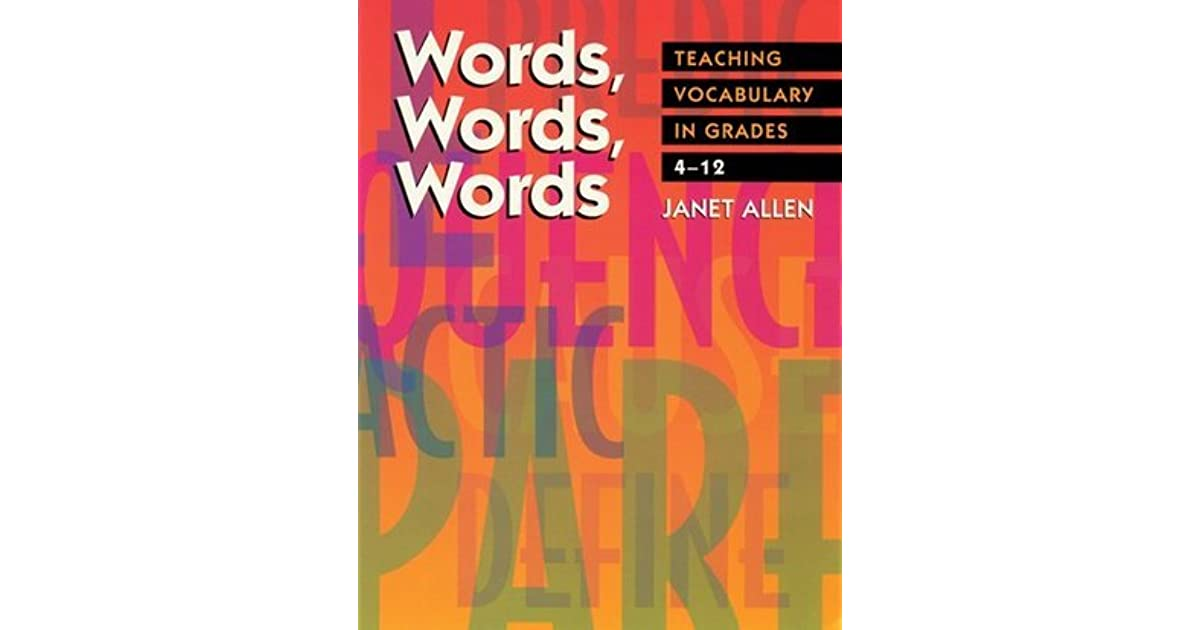 Book Stretching Students Vocabulary