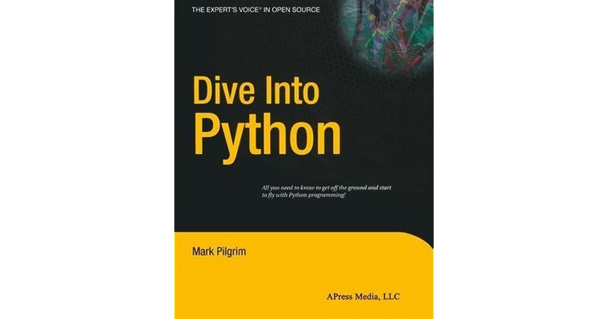 Dive into python by mark pilgrim - Dive into python ...