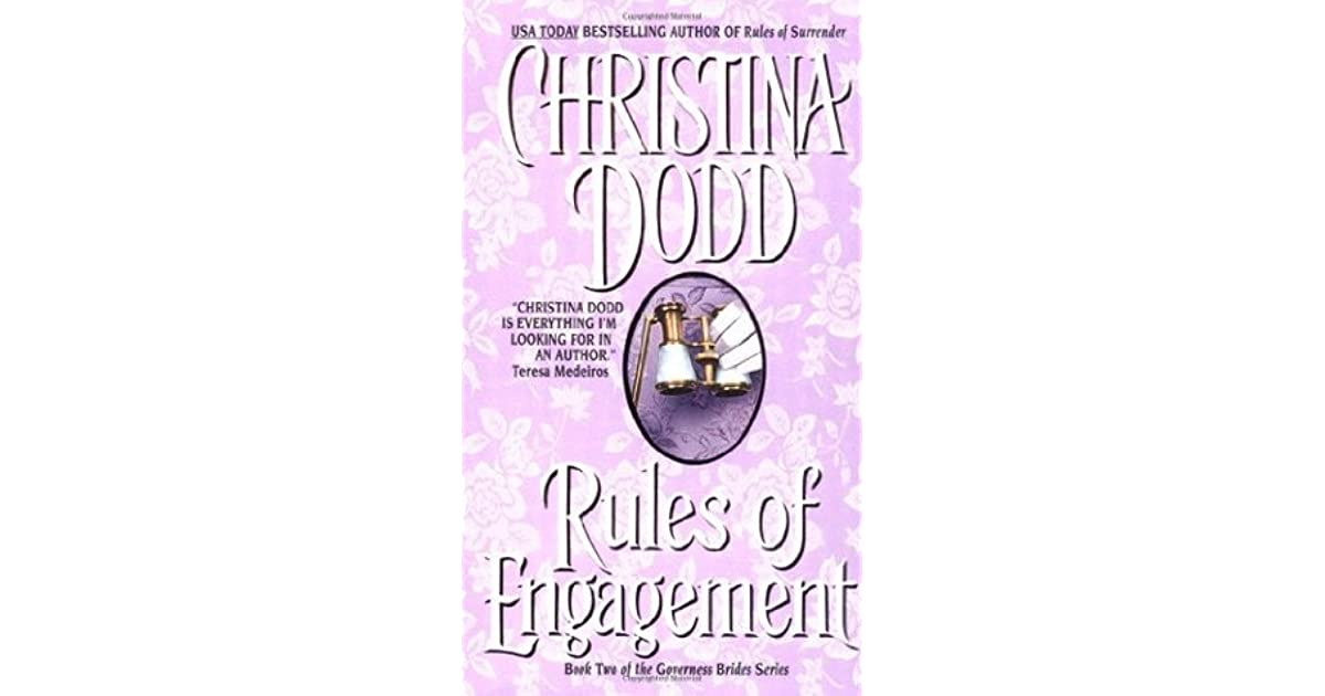 Rules of engagement governess brides 3 by christina dodd fandeluxe Images