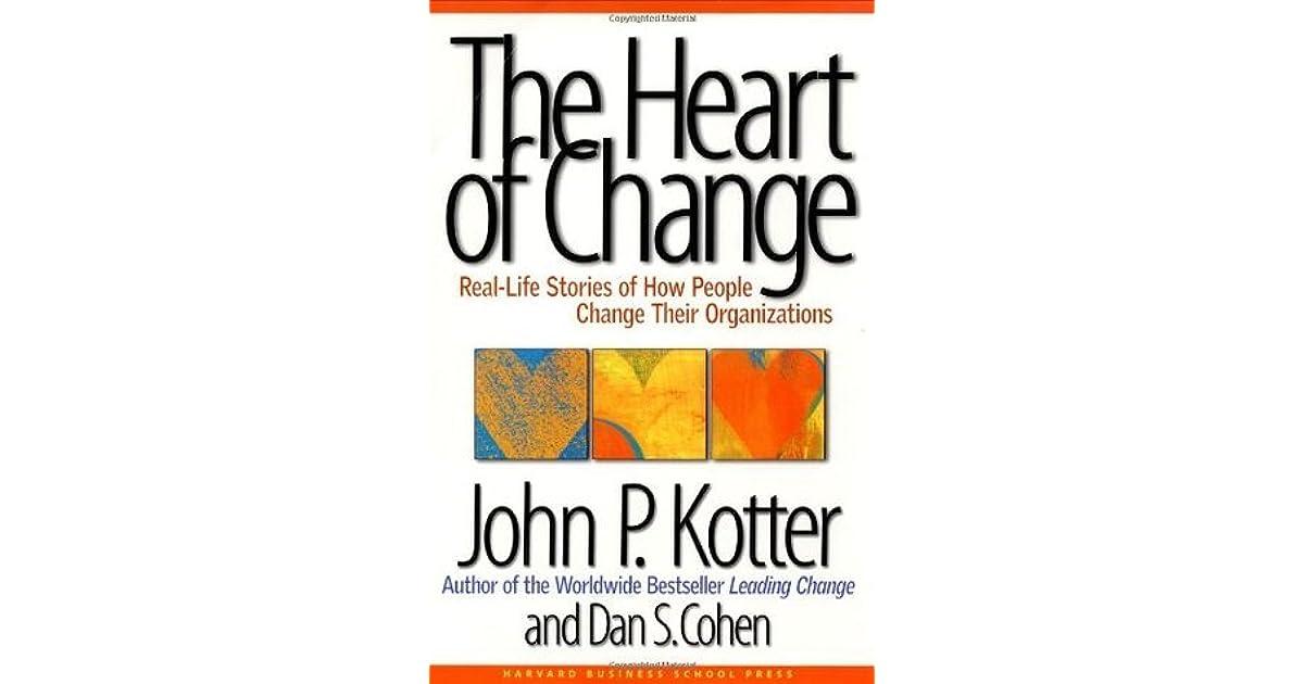 kotter heart of change summary