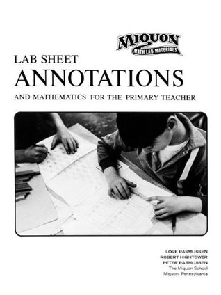 Lab Sheet Annotations and Mathematics for the Primary Teacher
