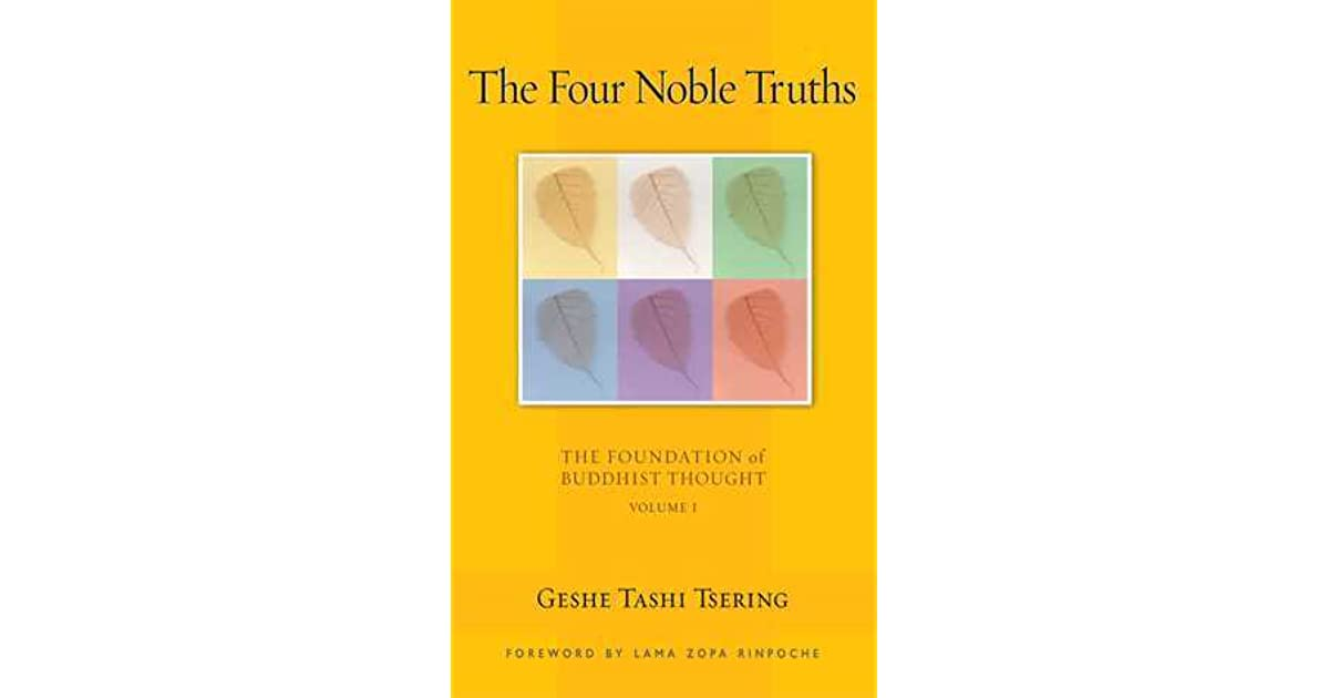 The four noble truths by tashi tsering fandeluxe Images