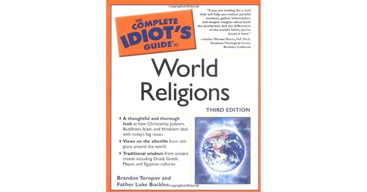 The complete idiots guide to world religions by yusuf toropov fandeluxe Gallery