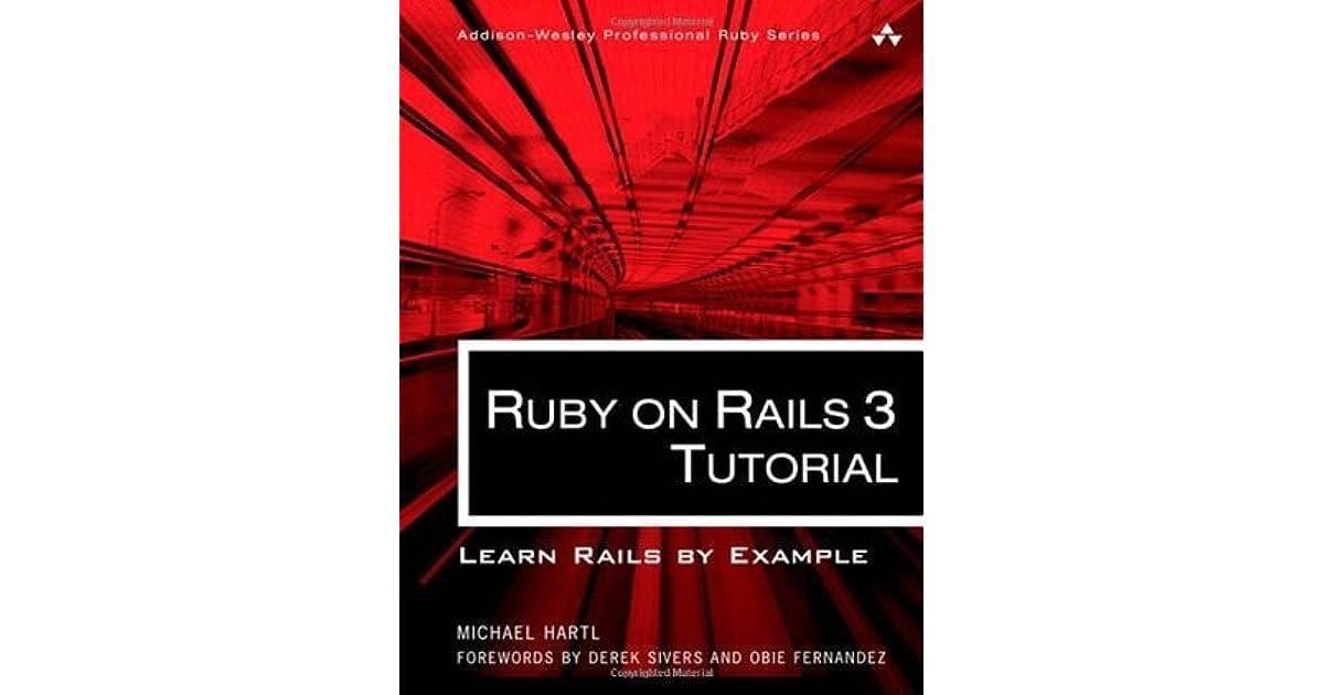 Ruby On Rails Tutorial Book