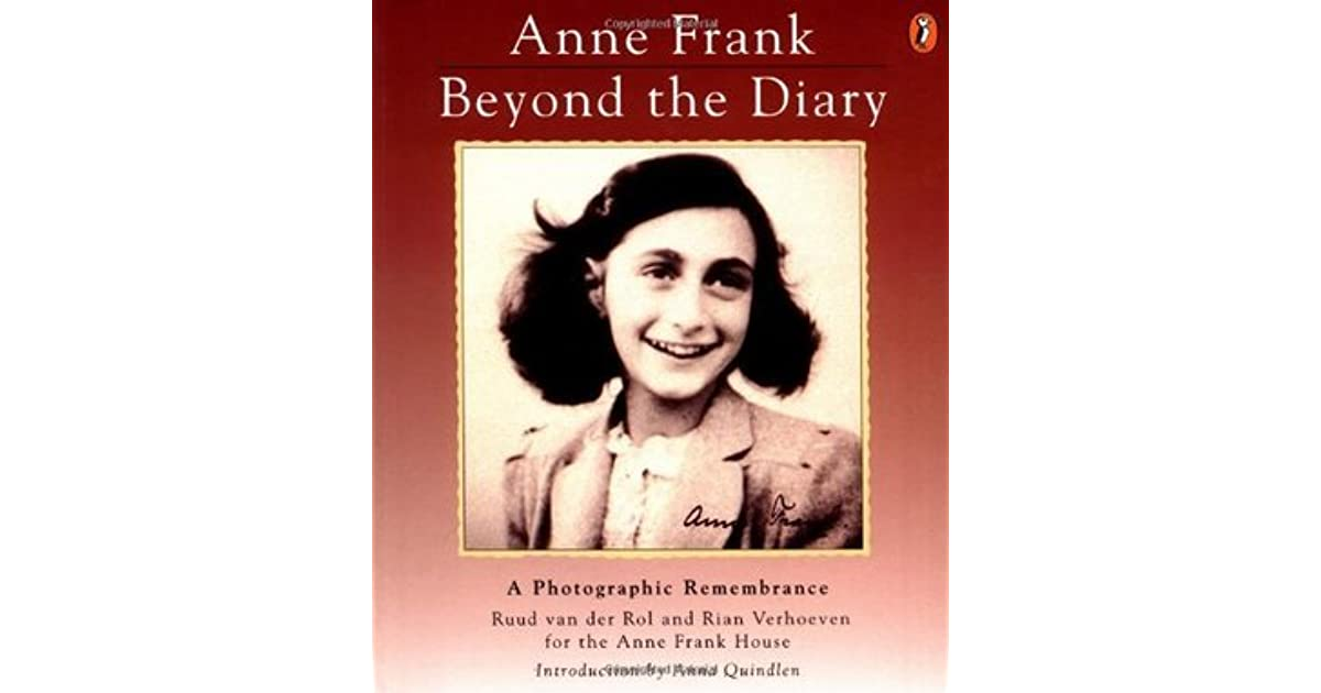 Anne frank beyond the diary a photographic remembrance by ruud anne frank beyond the diary a photographic remembrance by ruud van der rol fandeluxe Epub
