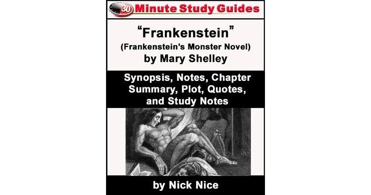 summary mary shelley frankenstein