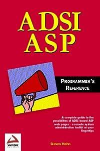 ADSI/ASP: Programmer's Reference