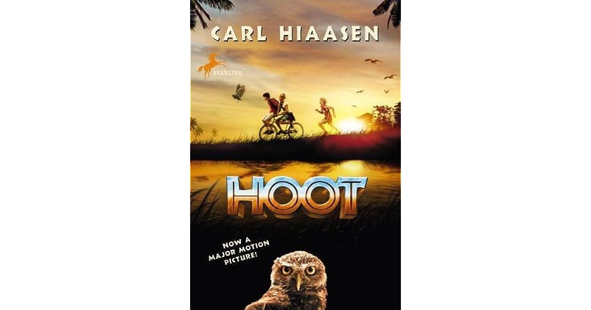 Hoot Carl Hiaasen Book
