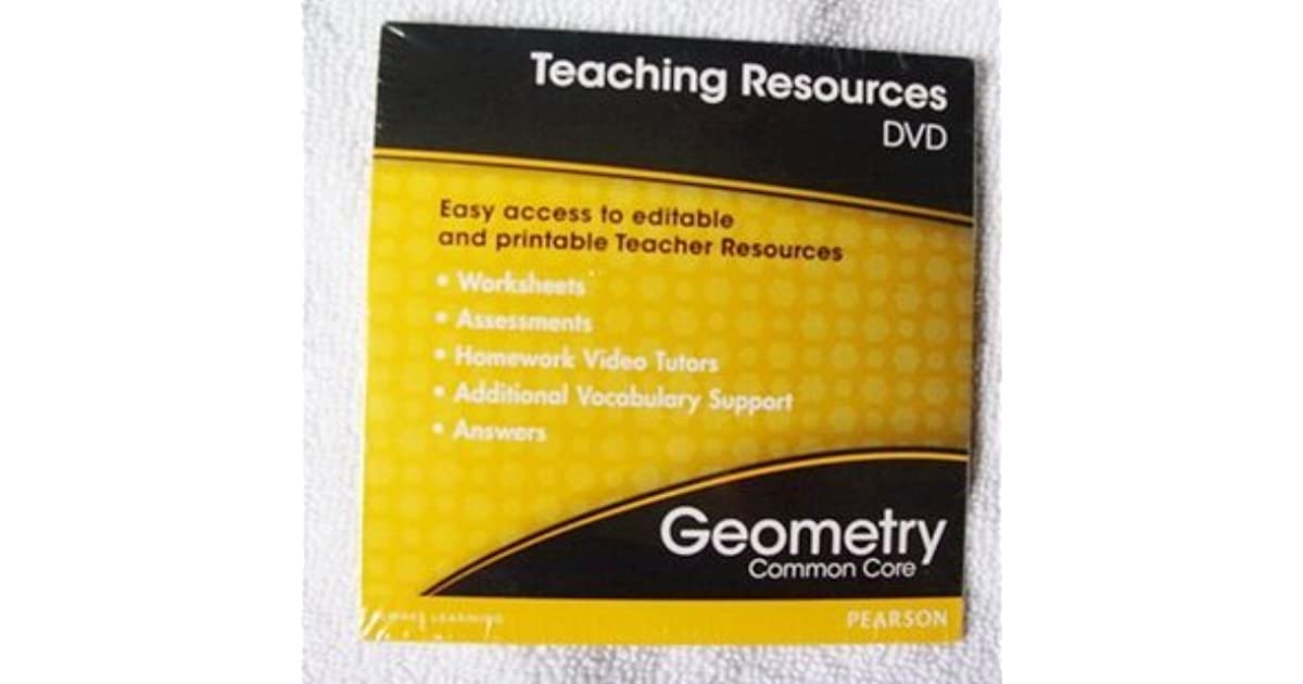 Geometry Common Core Teaching Resources by Prentice Hall Pearson