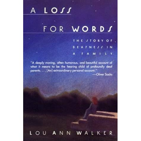 "lou ann walkers a loss for words english literature essay How to write literary analysis suggested essay ""i am sure you have seen and understood me,"" and for the first time in the novel emma is at a loss for words."