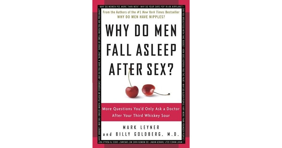 what men do after sex