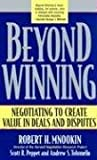 Beyond Winning by Robert Mnookin