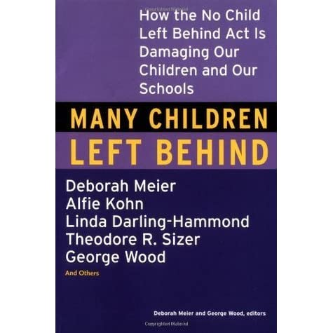 what bush leavs behind essay Politics, bush - no child left behind act title length color rating : the no child left behind act essay - initiated in 2002, the no child left behind act (nclb) of 2001 intended to prevent the academic failures of educational institutions and individual students, as well as bridge achievement gaps between students.