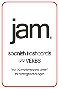 JAM Spanish Flashcards - 99 Verbs