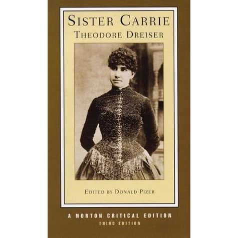 thesis on sister carrie