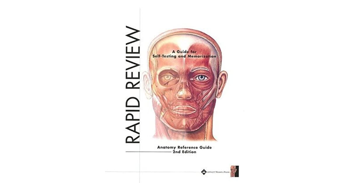 Rapid Review Anatomy Reference Guide By Not A Book