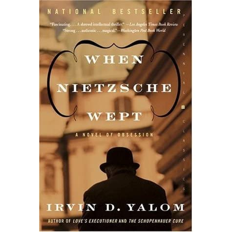 when nietzsche wept essay In addition, dr yalom has written a new introductory essay for each of his trade books, which focus on the evolution of his career and thinking since the books were previously unpublished case studies, and excerpts from loves executioner when nietzsche wept, and lying on the couch.