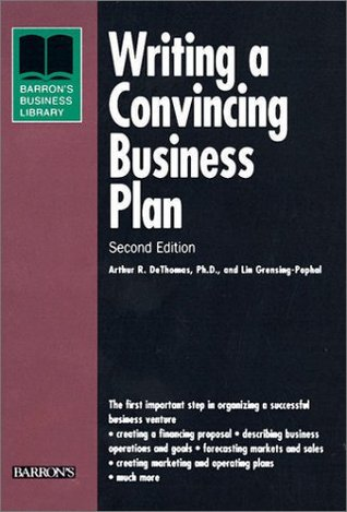 Writing convincing business plan how to write a departmental report