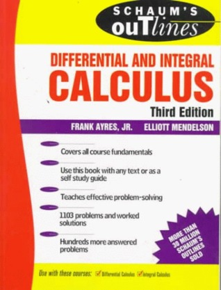 Theory and Problems of Differential and Integral Calculus (Schaum's